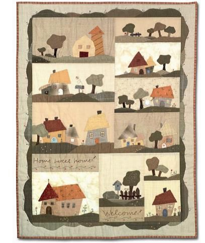 Little town - free pattern by sulky  http://www.sulky-international.de/scripts/clsAIWeb.php?seite_id=274