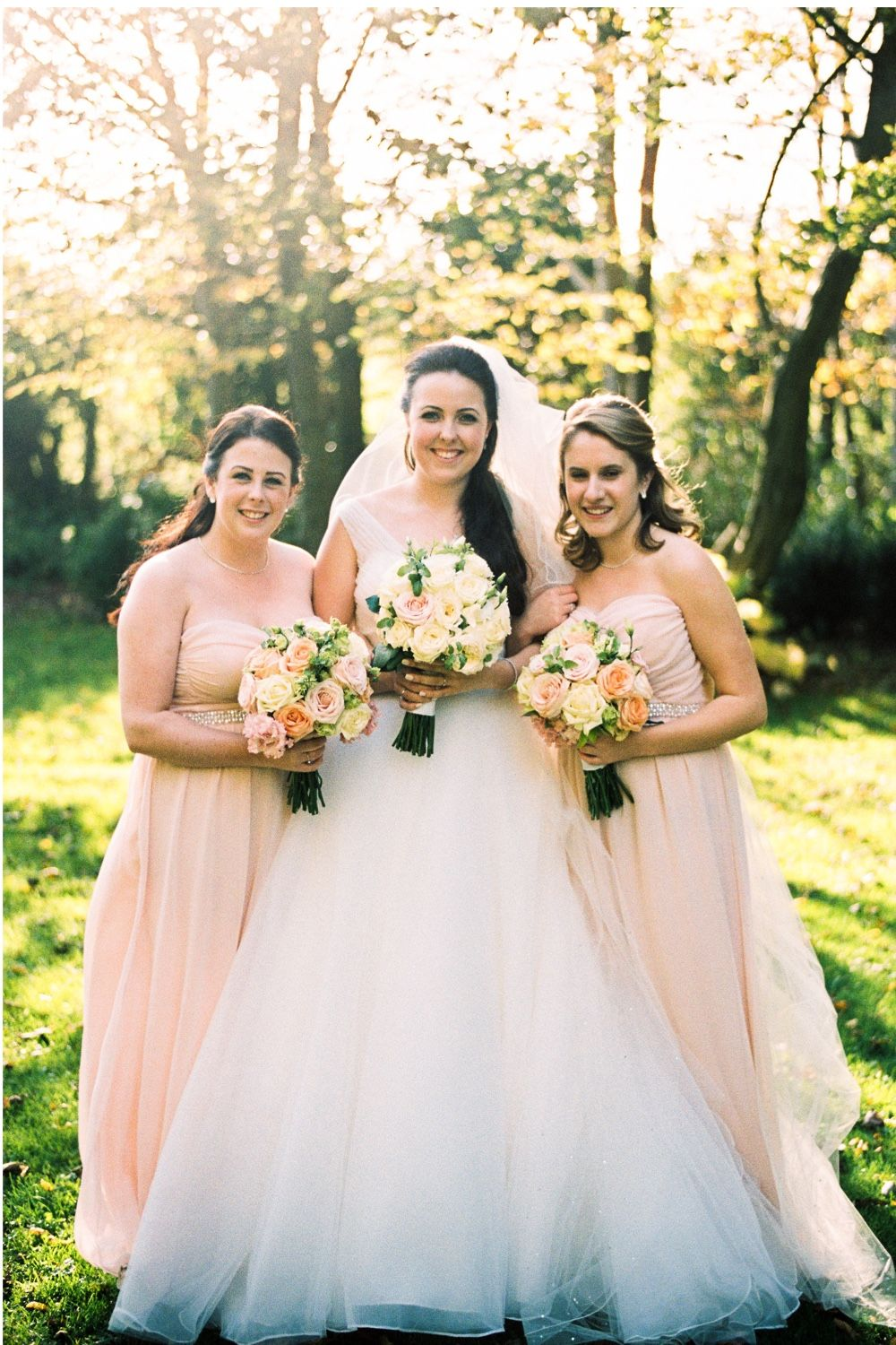 An elegant autumn wedding planned in three months peach an elegant autumn wedding planned in three months peach bridesmaid dressesbridesmaidstable ombrellifo Images