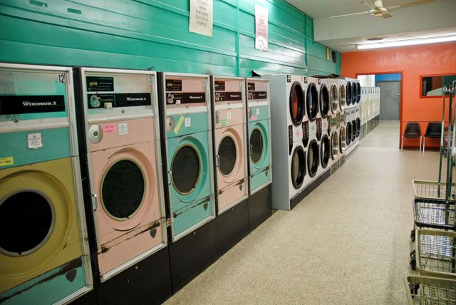 I was trying to find a fancy-looking laundromat like Clean ...
