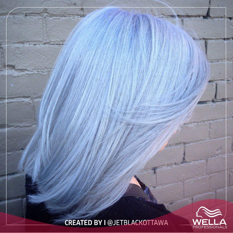 لون باستيل مثالي من ابتكار صالون Jet Black Hair Studio A