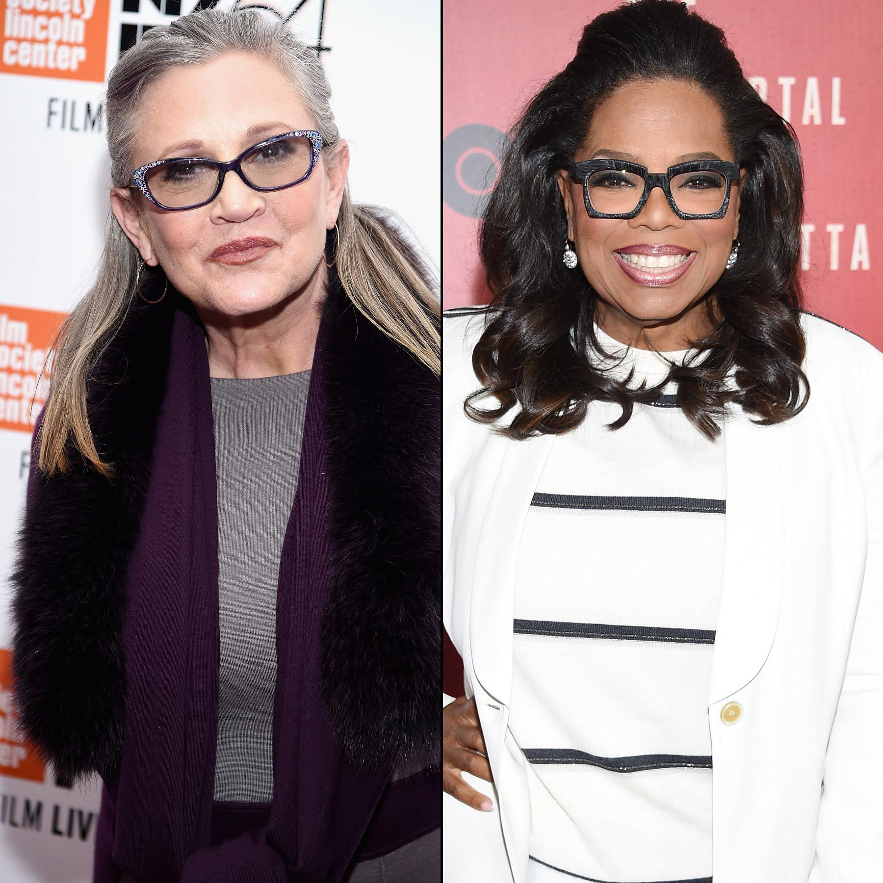 Carrie fisher oprah winfrey inducted as disney legends in