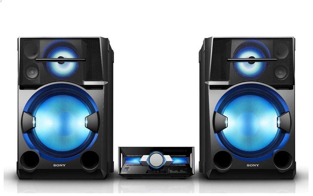 Sony Bluetooth Wireless Stereo Music System 4800 Watts Party Sound Speaker Rock Wolle Kaufen Sony Elektronik