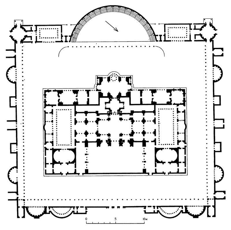Termy Diokletiana V Rime 305 G Istoriya Iskusstva Rim Greciya