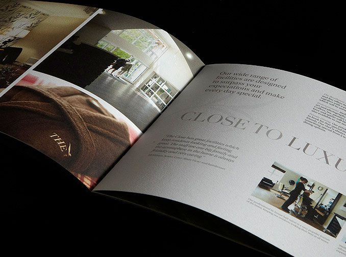 Brochure Design Close Care Home Lindis Pinterest