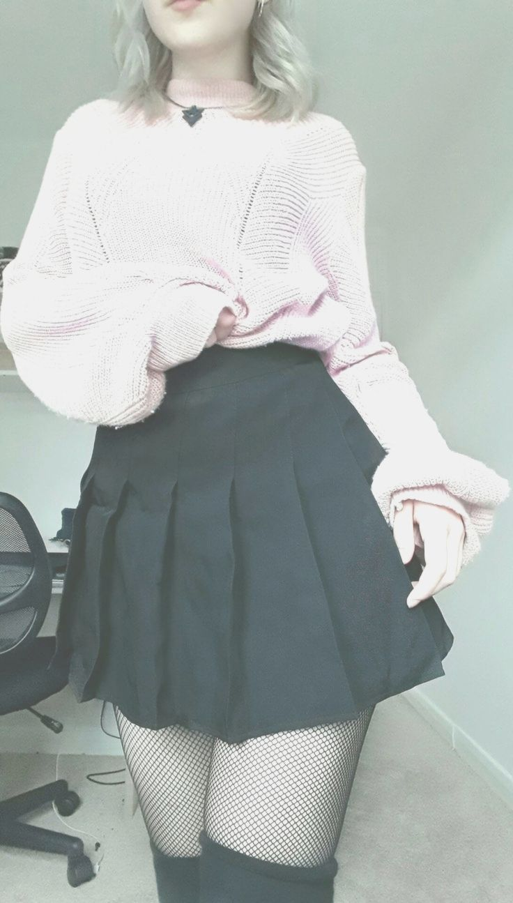 Pastell Goth Outfit, das Kawaii ist -