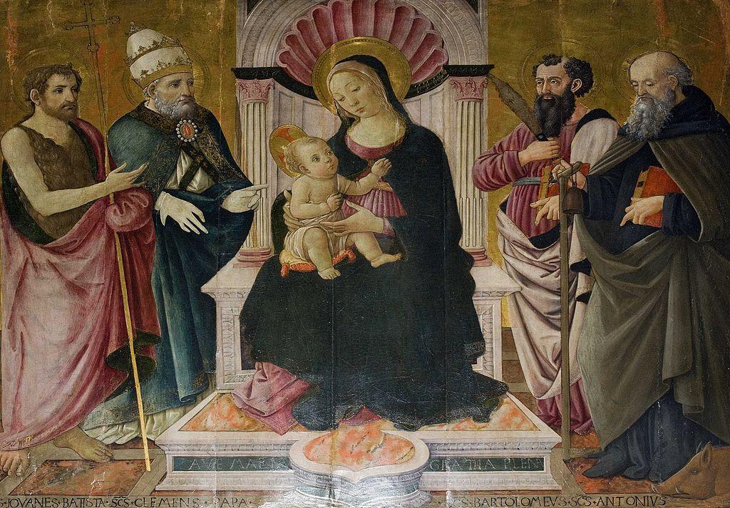 Maestro di San Miniato - Madonna con Bambino - Pieve di Santa Maria Assunta, Stia (Toscana, Italia)