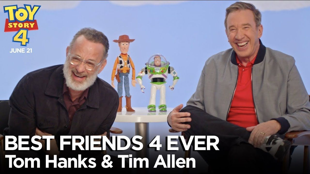 Best Friends 4 Ever With Tom Hanks Tim Allen Toy Story 4