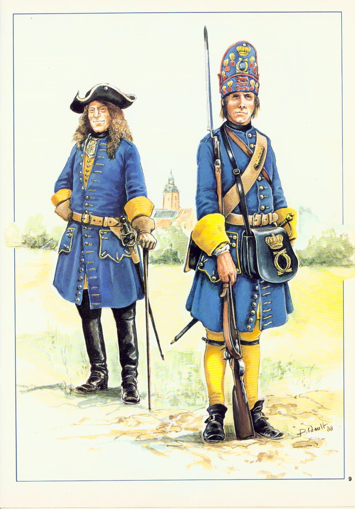 Swedish Infantry Circa