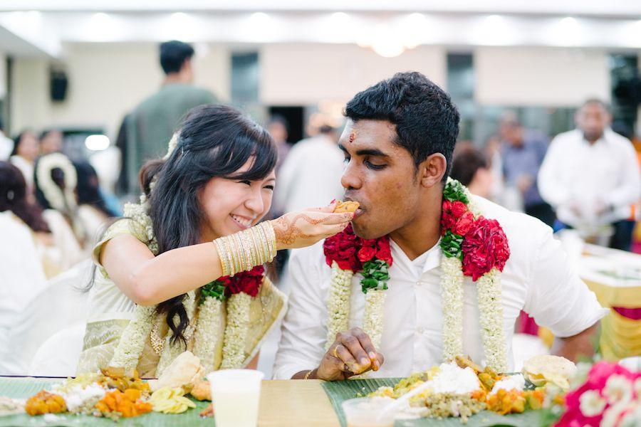 Kesavan And Melissas Garden Wedding At Shangri Las Rasa Sentosa