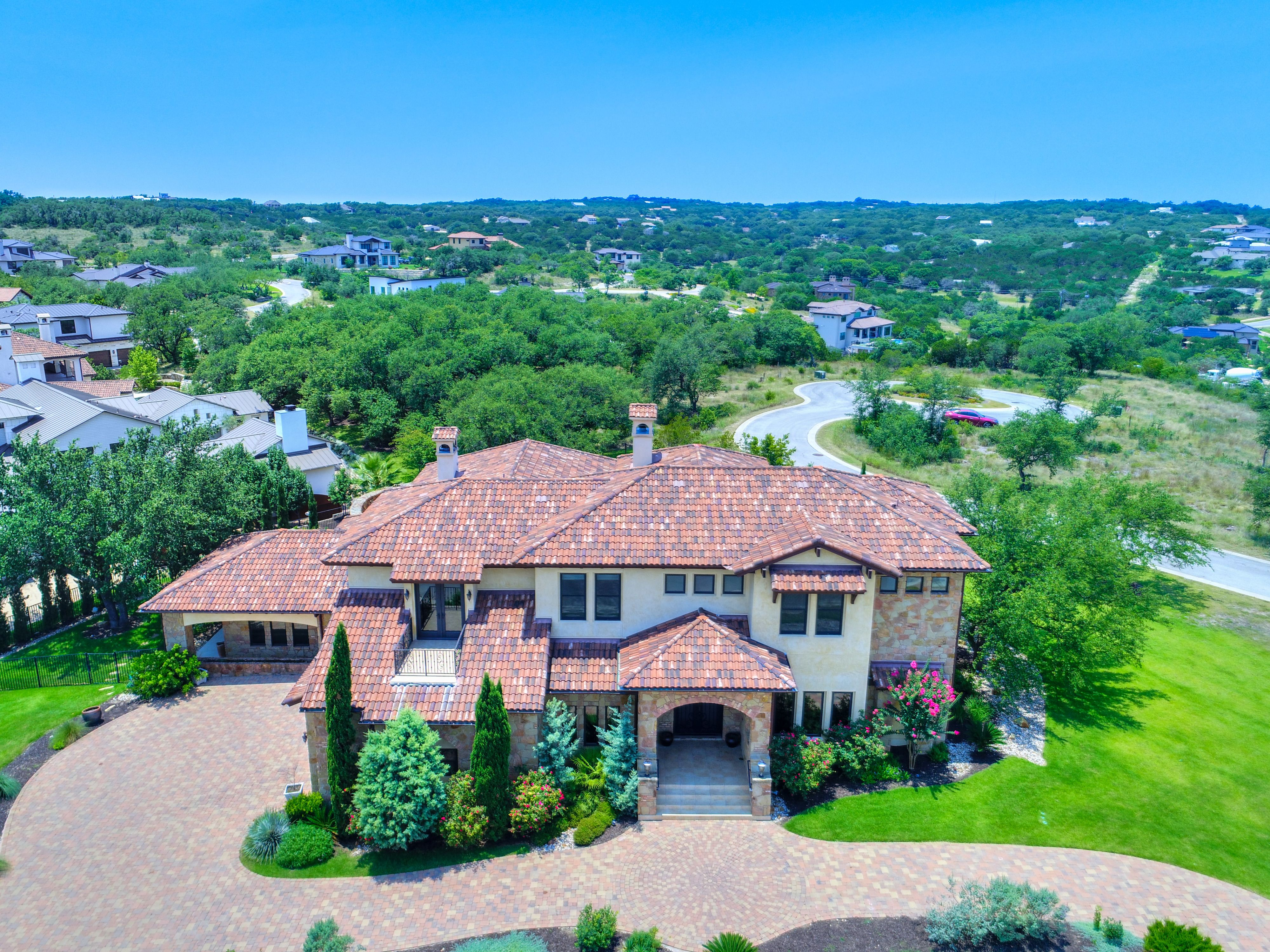 12601 Maidenhair Lane In The Upscale Gated Golf Community, Spanish Oaks.  $1,973,000