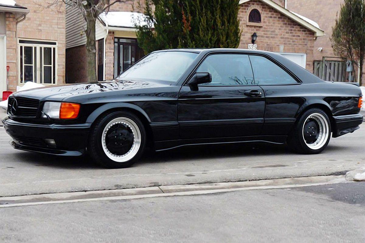 How many amg 6 0 4v w126 sec and sel cars were built amg side shot - Mercedes Benz 560 Sec Amg 6 0