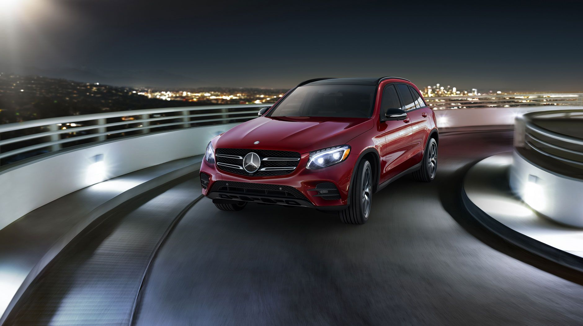 Glc300 In Cardinal Red With Night And Premium 3 Packages