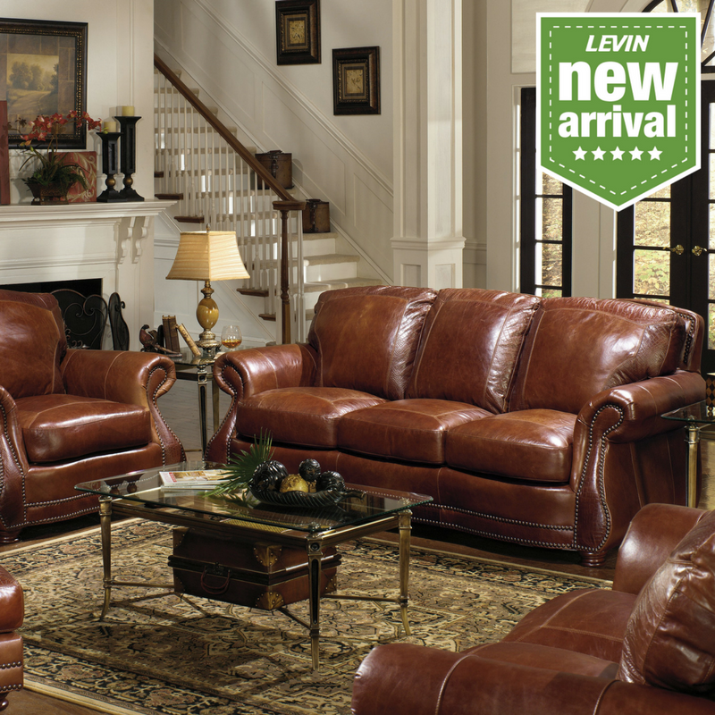 This Maldives Leather Sofa Is A Perfect Place To Relax At The End Of A Hard  Day. Itu0027s Covered By Luxurious 100% Top Grain Leather In A Rich, Glossy  Brandy ...