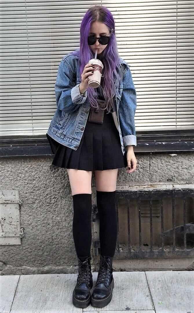 brave outfit grunge falda 11
