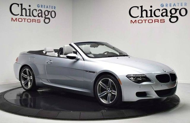 2008 Bmw M6 Base Convertible 2 Door 2008 Bmw M6 Clean Carfax Flordia Car Clean Luxury Cars For Sale Bmw M6 Cars For Sale