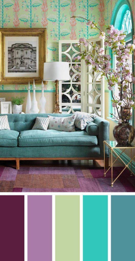 Arredare il salotto con i colori combinazioni colori for Idee per arredare il salotto