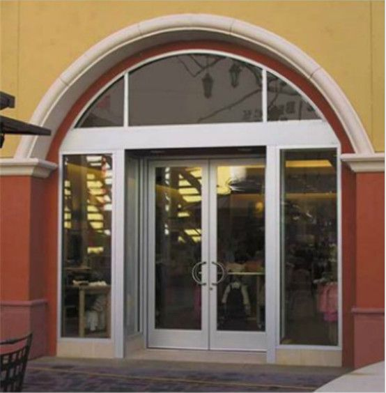 The 450 1 3 4 X 4 1 2 Series Aluminum Storefront System Is The Most Versatile For Exterior Applications Since Types Of Doors Entrance Doors Laminated Glass