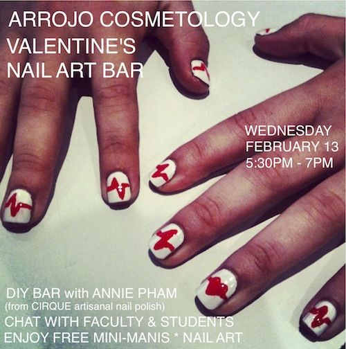 Come To Our Complimentary Valentines Day Nail Art Bar Wednesday 2