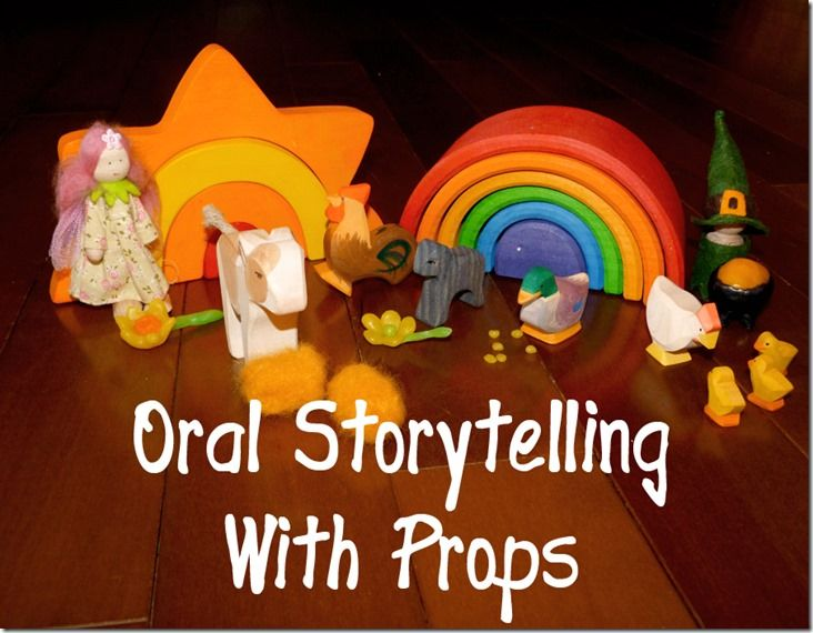 Oral Story Telling With Props Children Can Feel The