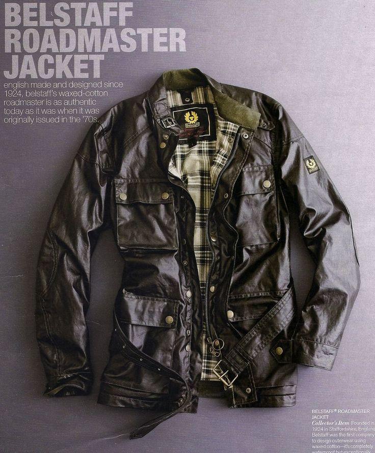 Rugged Luxe 5 Belstaff Roadmaster Jacket Classic