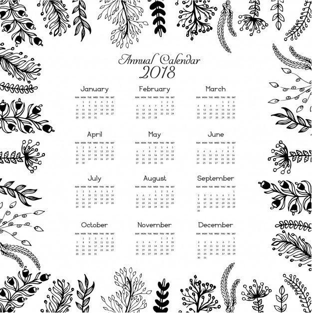 january 2018 calendar usa