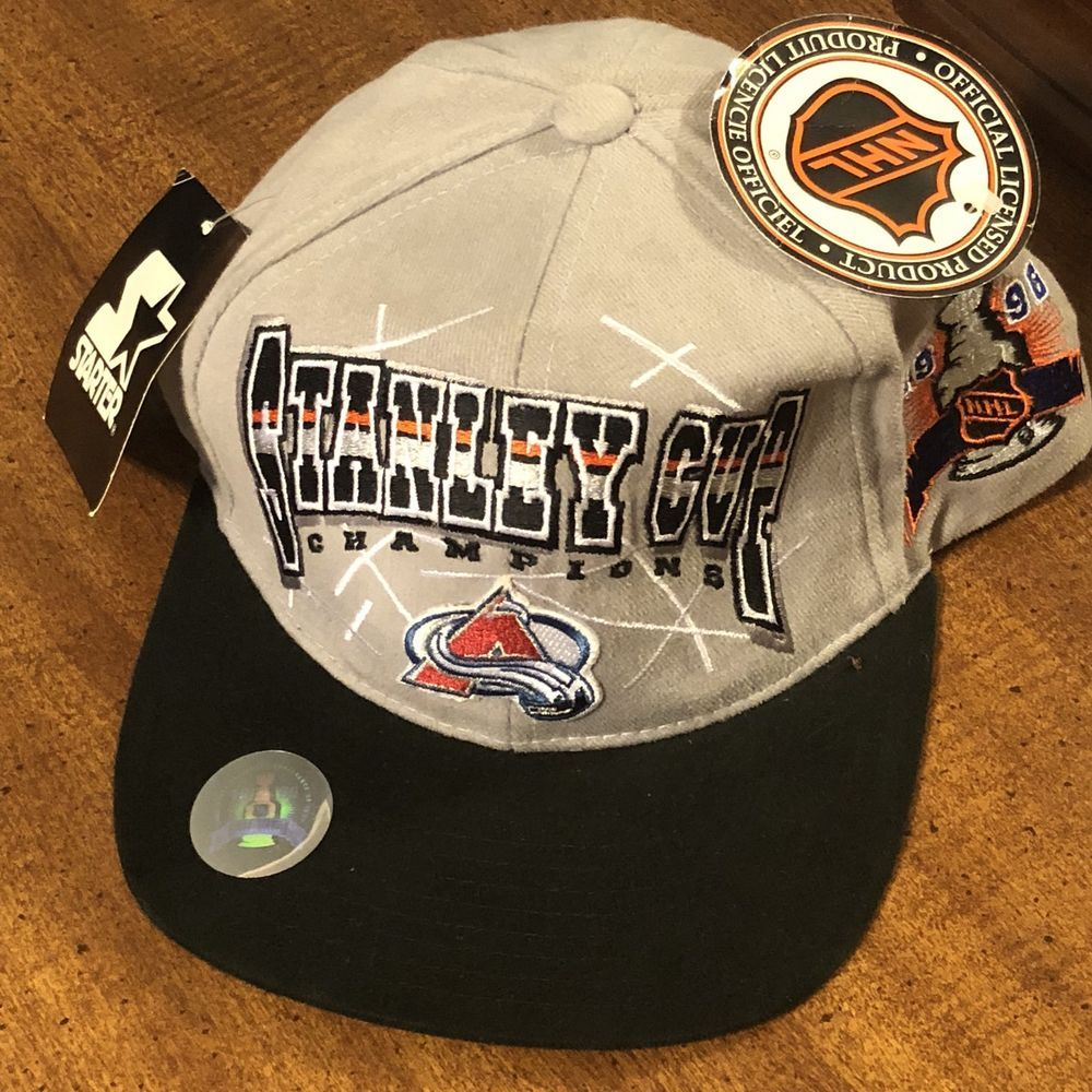 646e4a6f643 New With Tags Colorado Avalanche 1996 Stanley Cup Champions Snapback ...