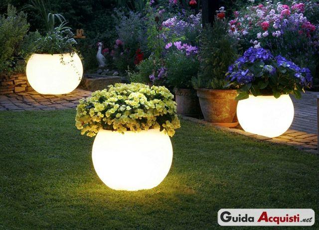 Luci da giardino ad energia solare ecologia backyard lighting