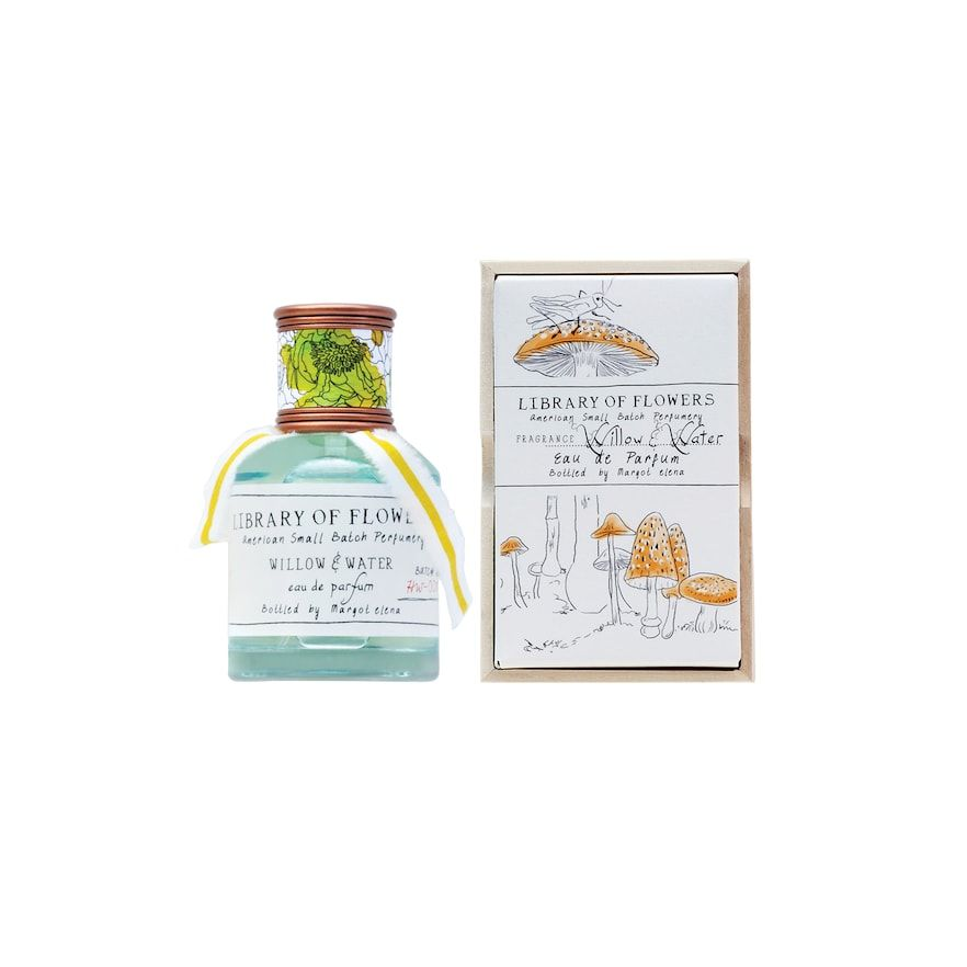 Library Of Flowers Willow Water Perfume Eau De Parfum Products Flowers Perfume Water