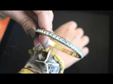 MR KATE layered jewelry fashion week inspired 2011
