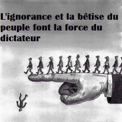 Google+ | Dictateur, Ignorance, Citations d'humeur