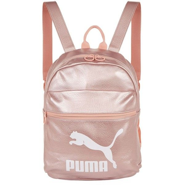 6fea50c260d Puma Prime Metallic Backpack ( 68) ❤ liked on Polyvore featuring men s  fashion, men s bags and men s backpacks