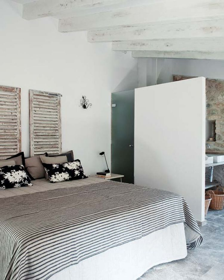Landhausstil Schlafzimmer in Weiß \u2013 50 Gestaltungsideen - schlafzimmerschrank landhausstil weiß