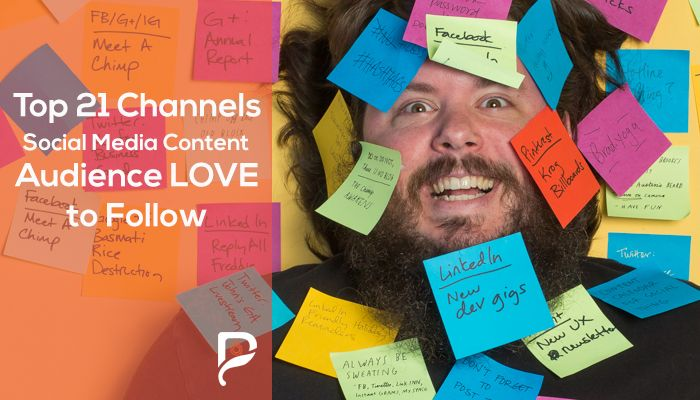 Top 21 Channels for Social Media Content that Audience LOVE to Follow
