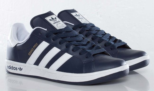 adidas originals grand prix new navy clothing and. Black Bedroom Furniture Sets. Home Design Ideas