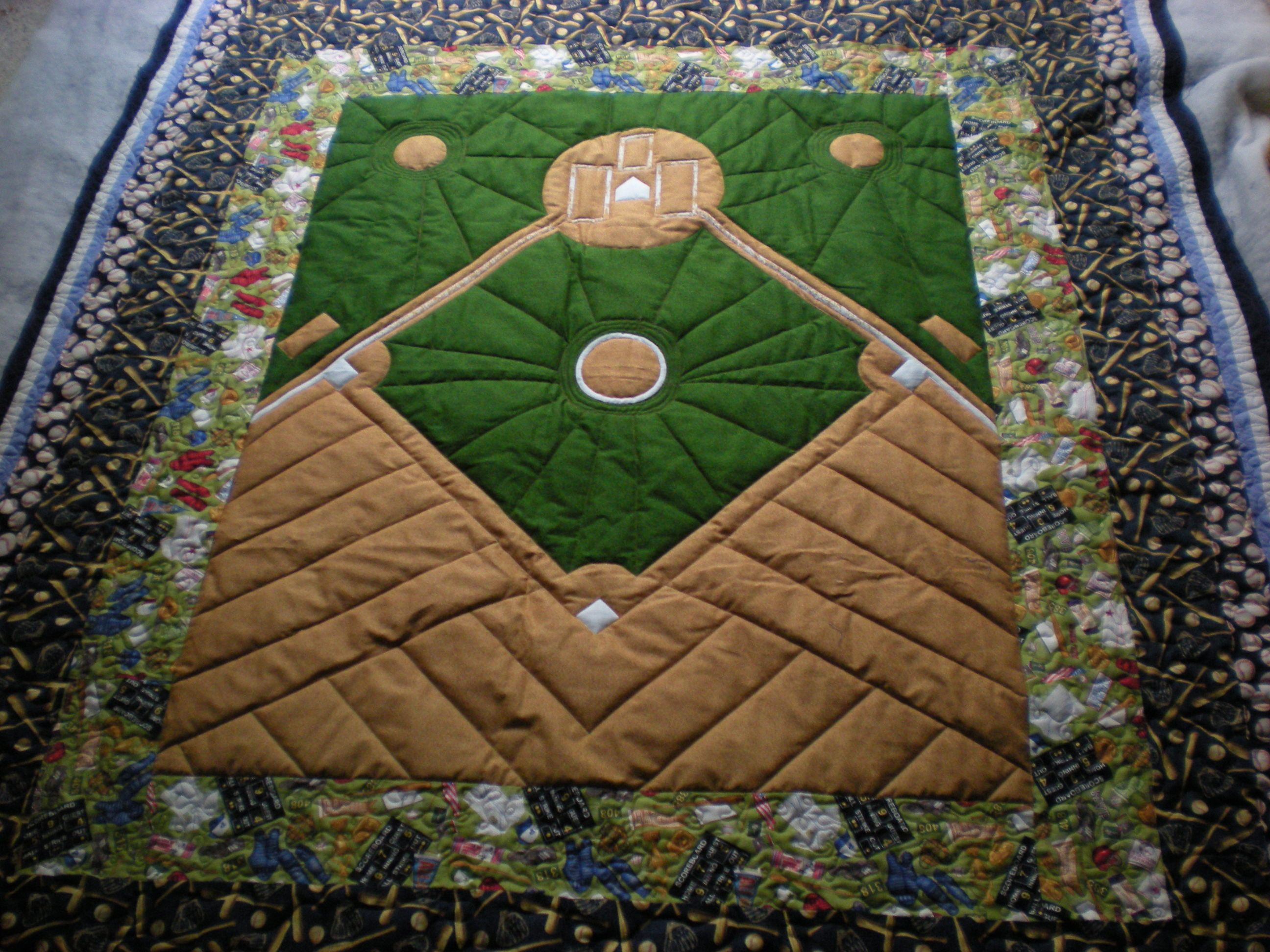 For Andrew's friends who have named all their children after ... : baseball fabric for quilting - Adamdwight.com