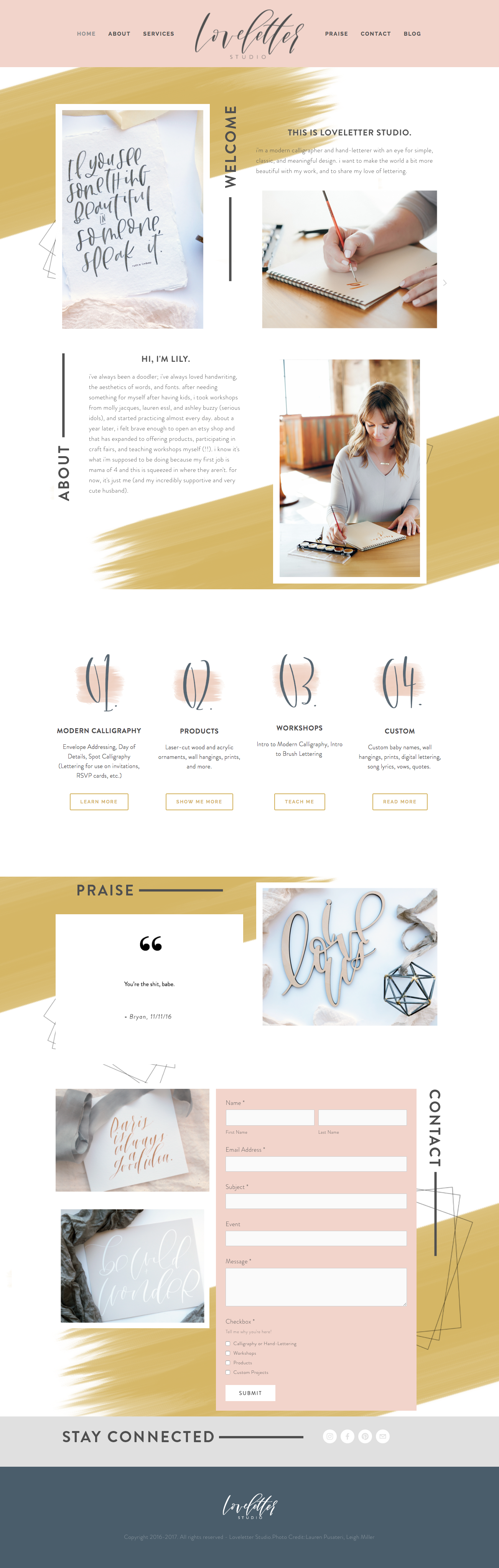 Build A Squarespace Website In Two Days Site Built By Loveletter Studio In Kansas C Web Design Inspiration Beautiful Website Design Website Design Inspiration