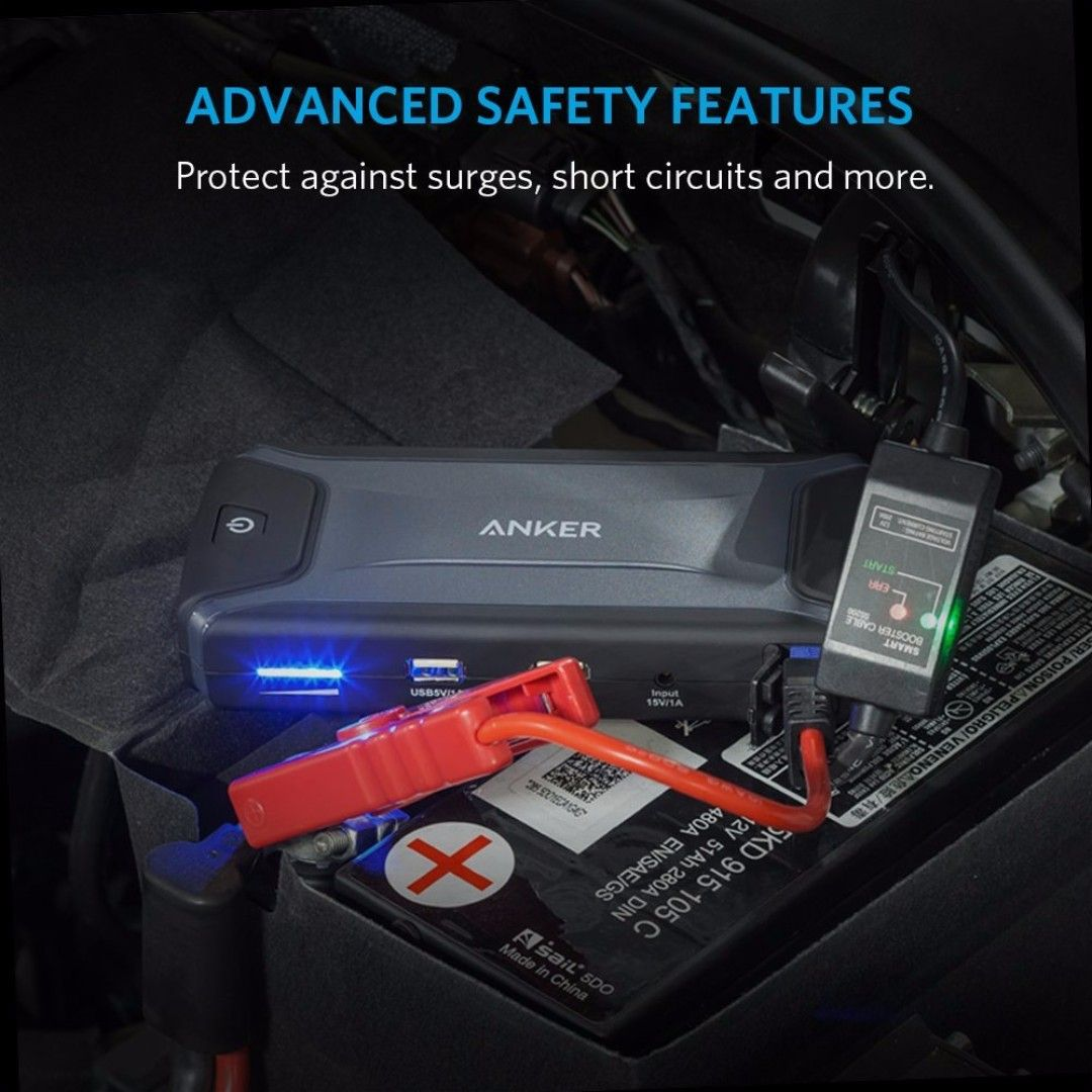 Anker jump starter portable chargeressential and versatile