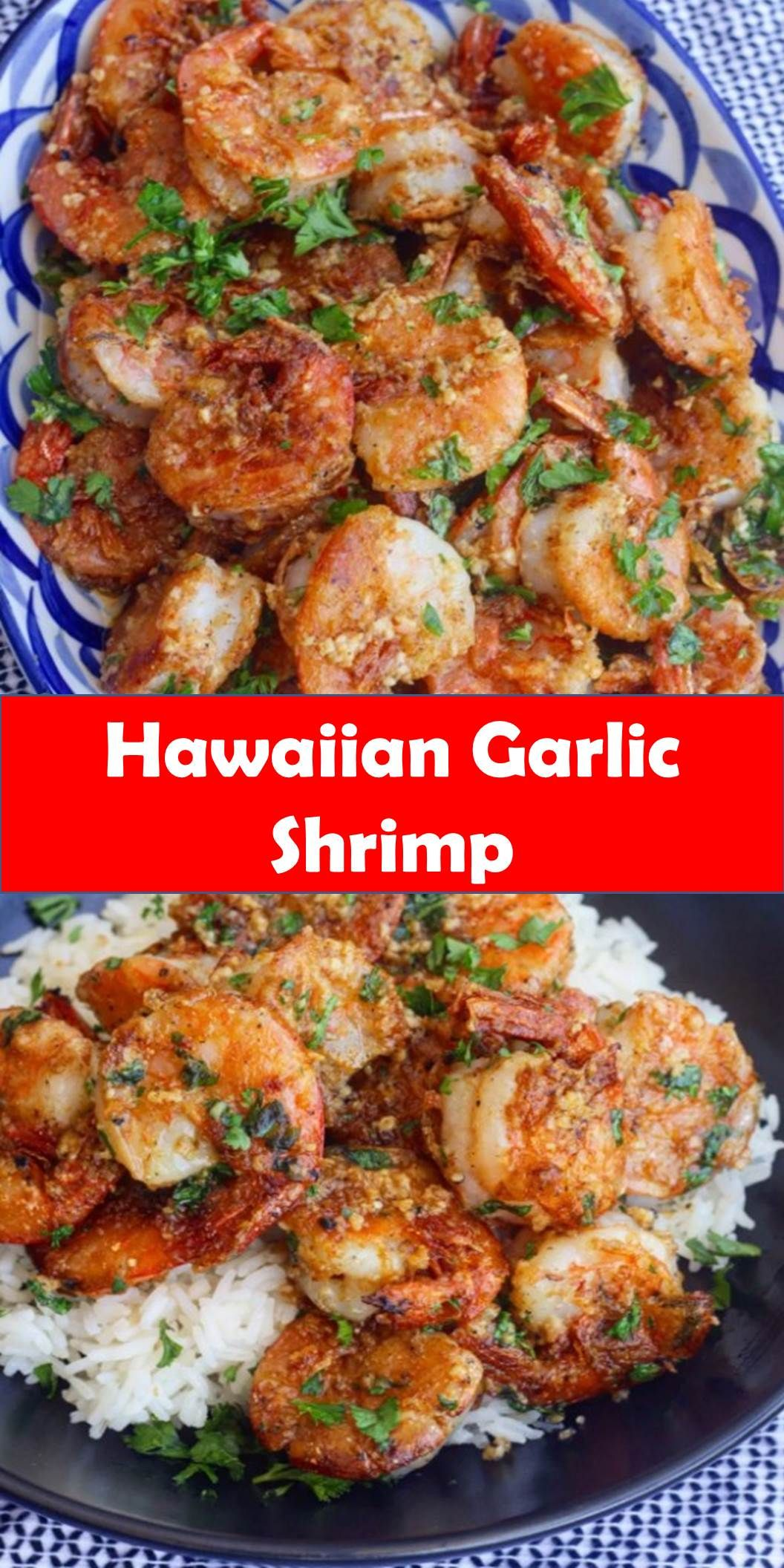 #Yummy #Hawaiian #Garlic #Shrimp Your family's favorite food and drink ! Hawaiian Garlic Shrimp Juicy prawns cooked in a garlicky buttery sauce, this Hawaiian Garlic Shrimp is just like the shrimp trucks you'd find in Hawaii. #Best #Vegas #Recipe! #BestVegasRecipe!