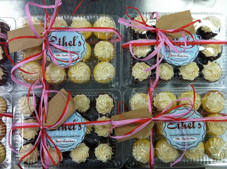 Share the love with Ethel's cupcakes! glutenfree