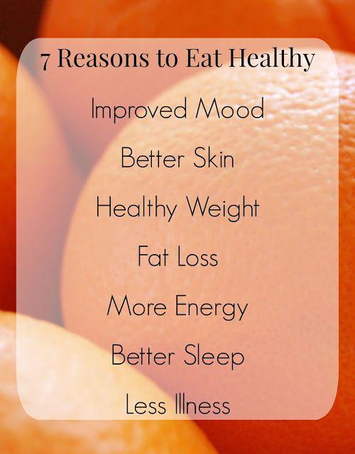 Seitsemän Syytä Syödä Terveellisesti