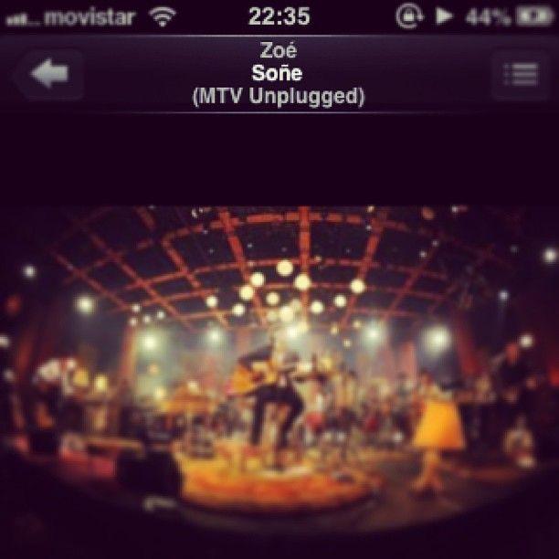 Vengan a Chile por la cresta! #Zoé #Soñé #MTV #Unplugged - @yurasex- #webstagram