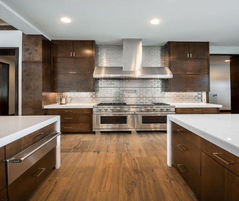 29 stainless steel backsplash ideas leave you spellbound kitchen backsplash inspiration on outdoor kitchen backsplash id=62302