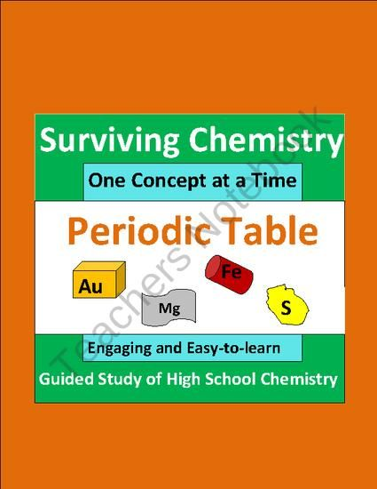 Periodic table engaging easy to learn guided study notes for hs periodic table engaging easy to learn guided study notes for hs chemistry from e3 scholastic on teachersnotebook 20 pages urtaz Image collections
