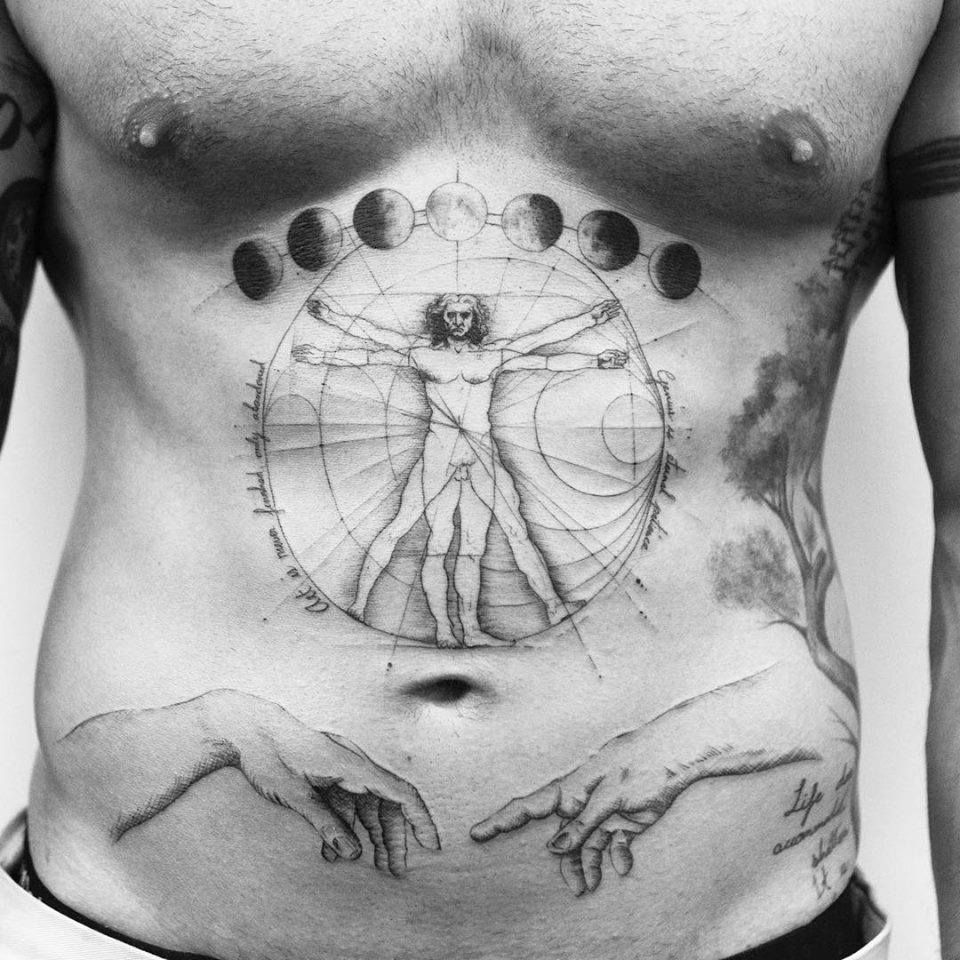 da vinci tattoo meaning