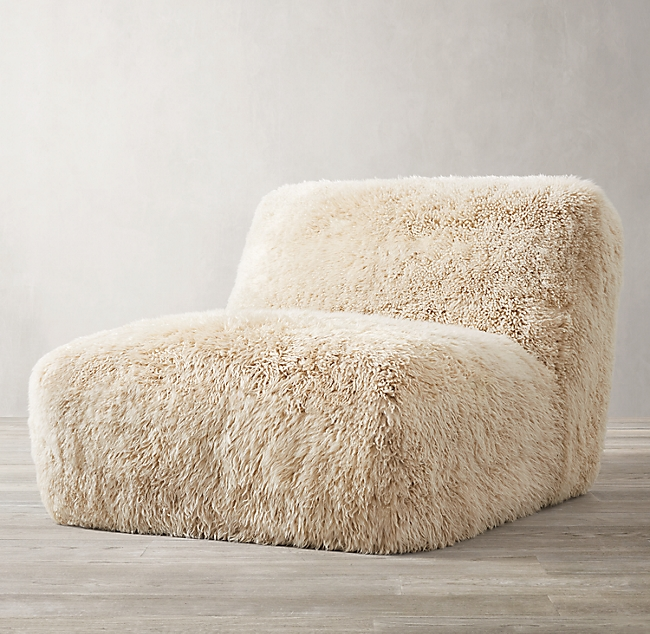 Yeti Sheepskin Chair Sheepskin Chair Round Sofa Chair