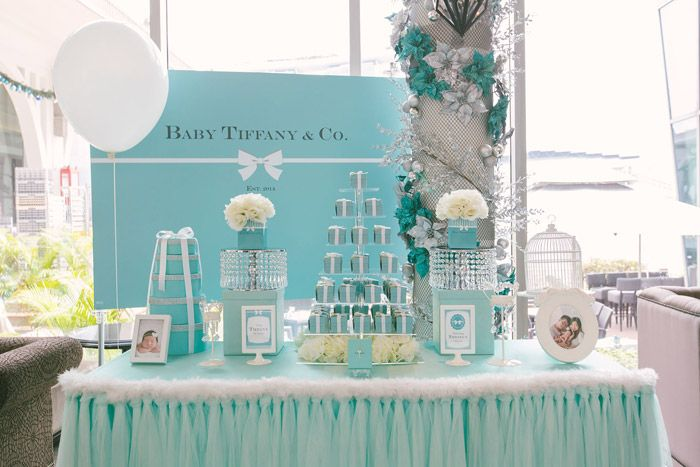 Tiffany Themed Party