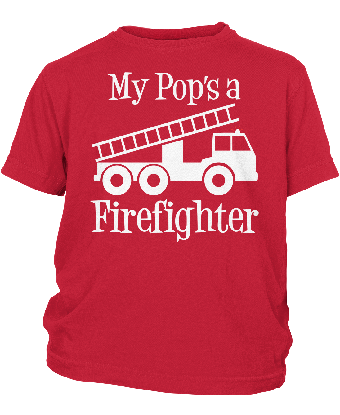 73fed54b My Pop's a Firefighter - Children's T-Shirt | Products | T shirt ...