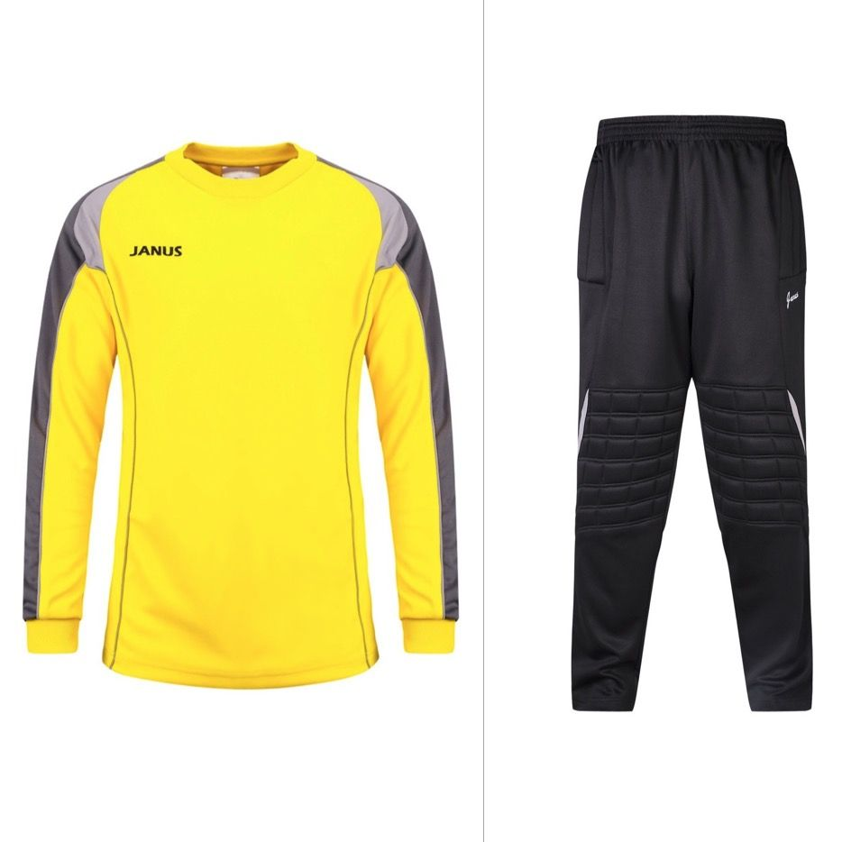 Janus 001 Men S Football Goalkeeper Clothes Suit Soccer Jerseys Top Training Suits Uniforms Sets Soccer Goalie Jersey Set Sport Outfits Soccer Goalie Clothes