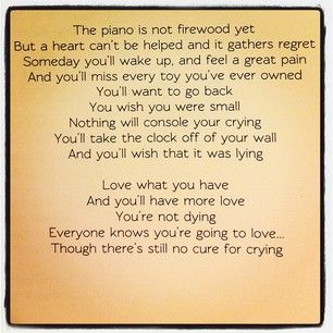 Firewood Regina Spektor Lyrics Lyric Quotes Regina Spektor