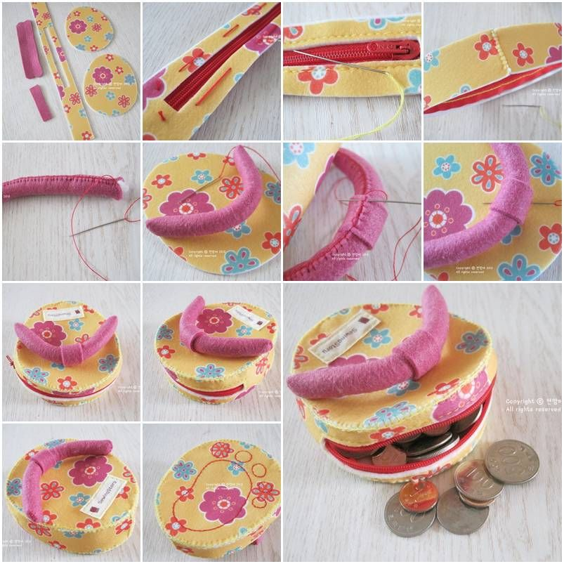 How to make custom flip flop money bag step by step diy for Craft ideas for adults step by step